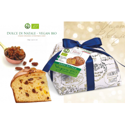 Organic & Vegan Panettone Spelt-Chocolate 750 Gr Linea ORO