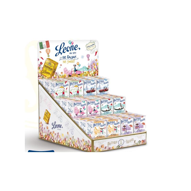 "Pastilles ""Be Italian Be Sweet"" 30gr Leone"