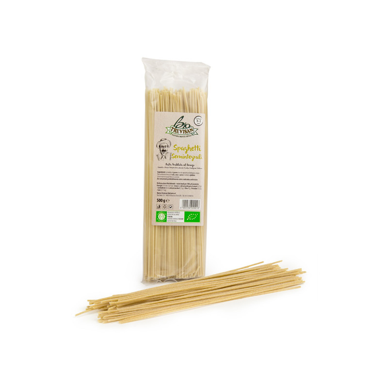 Spaghetti half whole wheat 500gr