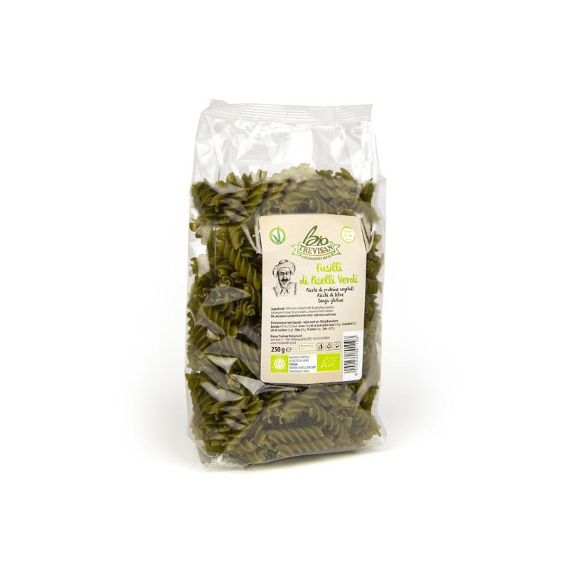 Fusilli green peas 250gr