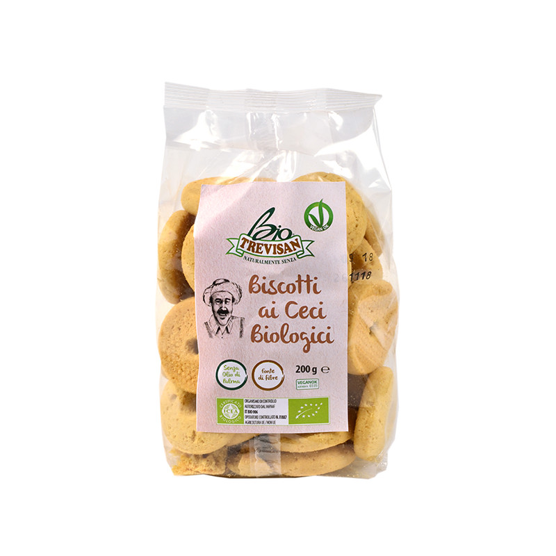 Chickpea biscuits organic 200gr