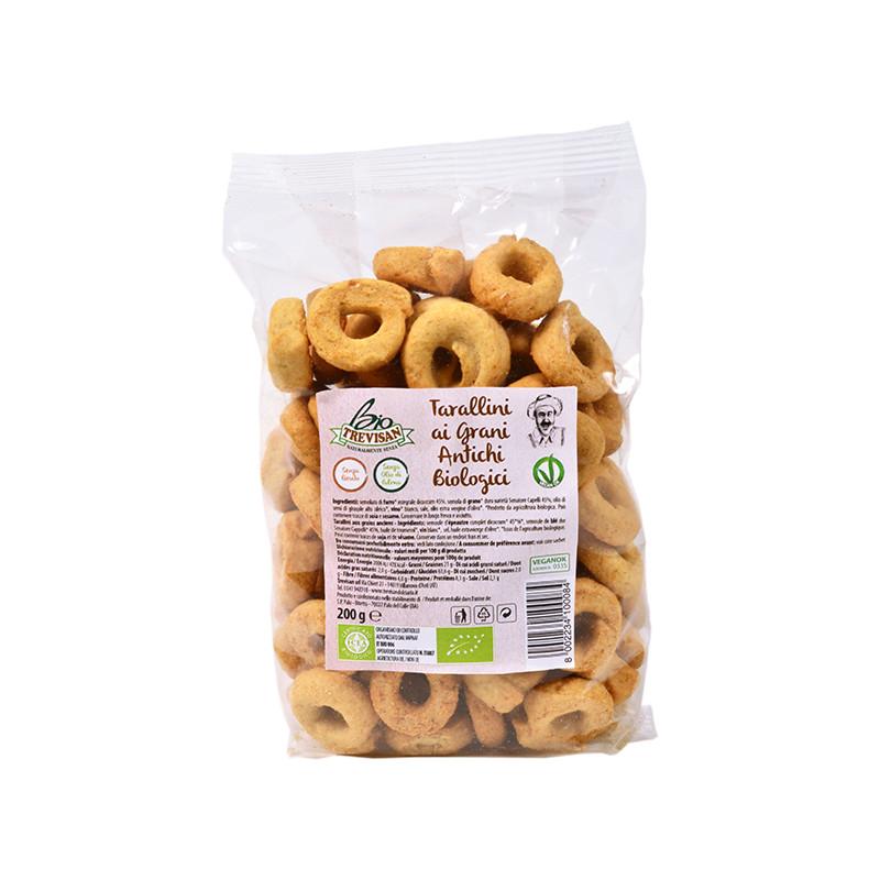Tarallini ancient grains - organic 200gr