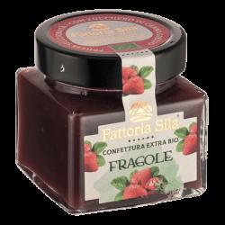 Jam strawberry organic 212ml